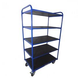 Wózek platformowy 5 półek URANOS 100x80 cm W5P10080GMN