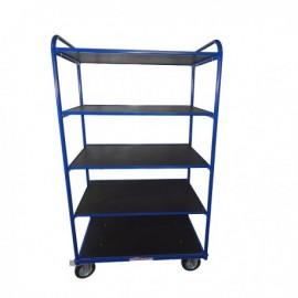 Wózek platformowy 5 półek URANOS100x50 cm W5P10050GMN