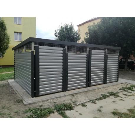 WIATA ŚMIETNIKOWA 6X4 m ORZEŁ SW600X400-1