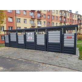 WIATA ŚMIETNIKOWA 8X4 m JASTRZĄB JW800X400-2