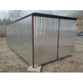 Garaż blaszany ocynkowany 4x6